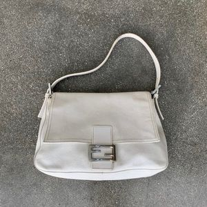 Fendi Leather Mama Zucca Bag